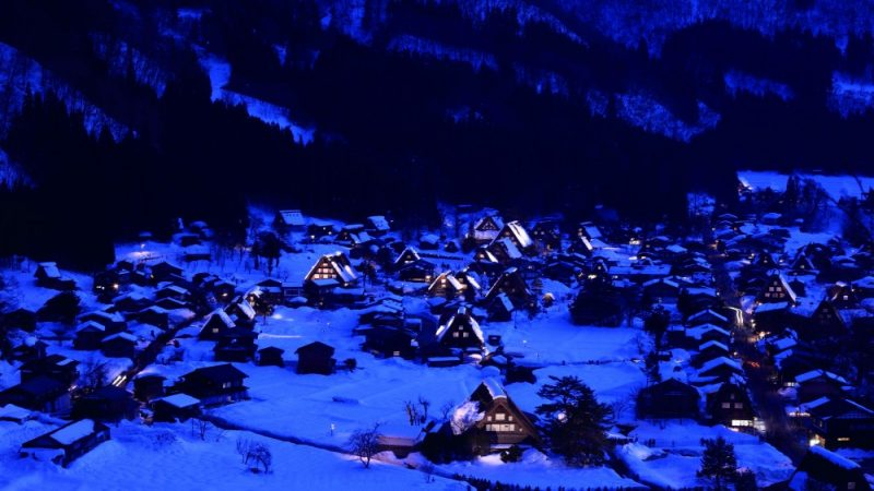 31 st Annual Shirakawa-go Illumination Display Event 2017